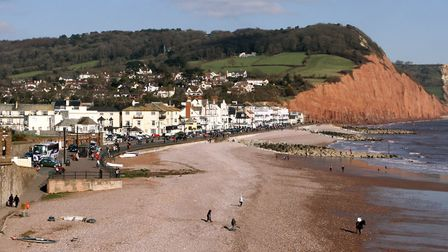 Sidmouth seafront view. Ref shs 08-16SH 6031. Picture: Simon Horn