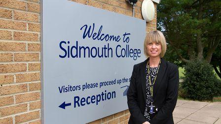 Sidmouth College Principal Sarah Parsons. Ref shs 39 18TI 1973. Picture: Terry Ife