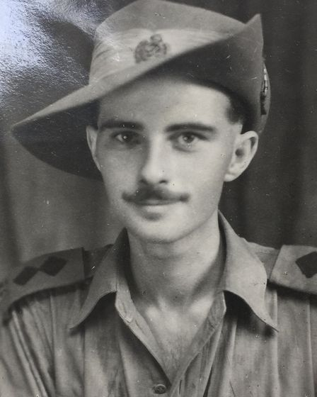 David Loudoun, who served with the Indian army in Burma. Picture: John Loudoun