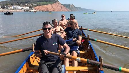 Sidmouth rowers are looking forward to the return of Sunday morning rows, which is often a trip to L
