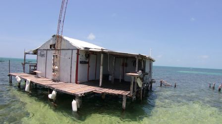 The dive accommodation. Picture: Mark Taylor Hutchinson