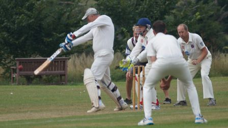 Phil Tolley, who was dropped on five and went on to top score in the Tipton win ove Stokeinteignhead