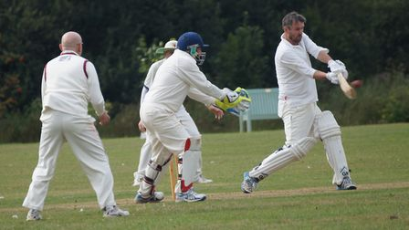 Skipper Dave Alford in action for Tipton in the meeting with Stokeinteignhead. Picture: PHIL WRIGHT