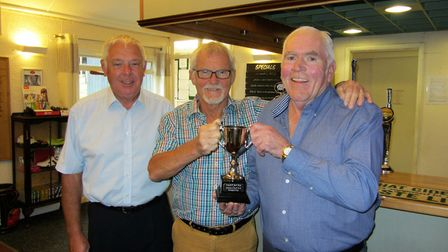 Golf rewind - and the 2016 Jurassic Cup success for Sidmouth. Our picture shows the presentation of