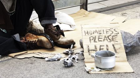 Homeless. Picture: Getty Images