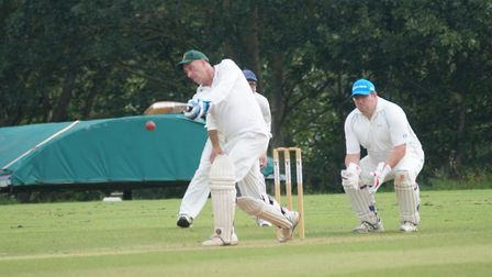 Tipton batsman Phil Tolley who hit yet another century in the win over Whimple. The prolific batsman