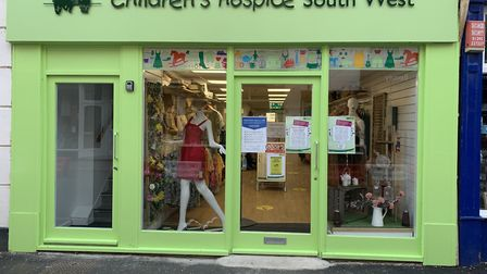 Sidmouth's new Children's Hospice South West charity shop. Picture: CHSW