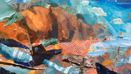 Artbeat exhibition: Painting by Laura Boyd - Sidmouth Lost and Found Picture: Laura Boyd