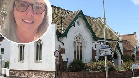 Andie Milne (pictured) and Brian Griffin are behind The Sidmouth Oasis, at the Dissenters' Hall, in