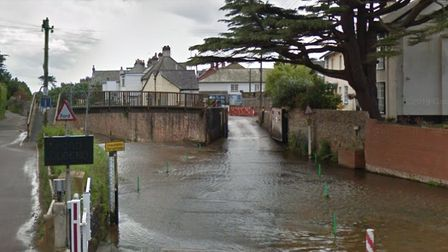 The ford over the River Sid. Picture: Google Maps