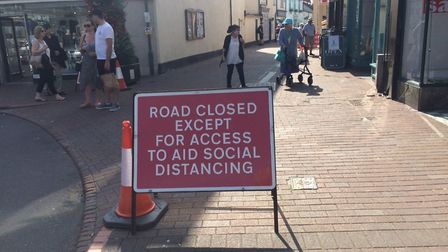 The temporary road closures could become more permanent. Picture: Philippa Davies