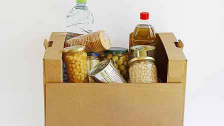 The community larder will distribute surplus supermarket food. Picture: Getty Images