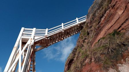 Jacob's Ladder in Sidmouth. Picture: East Devon District Council
