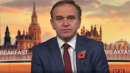 George Eustice on BBC Breakfast