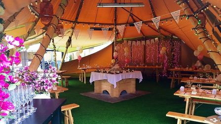 The White Hart in Weston-in-Gordano hosted weddings for up to 250 people pre-Covid. Picture: The W