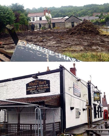 The White Hart when Mike and Christine took over the pub in 2015, Picture: The White Hart