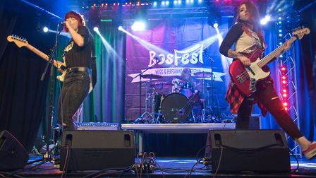 'I Destroy' on stage at the Princess Theatre during BOSfest in 2019. Picture: MARK ATHERTON