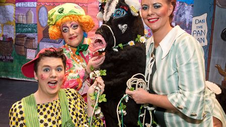 Jack and the Beanstalk at Princess Theatre Burnham on Sea in January. Picture: MARK ATHERTON