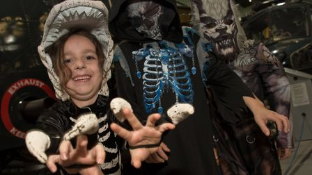 Halloween day at Weston Helicopter Museum in October, 2019. Picture: MARK ATHERTON