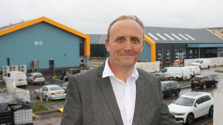 Newly-appointed food works manager David Nute