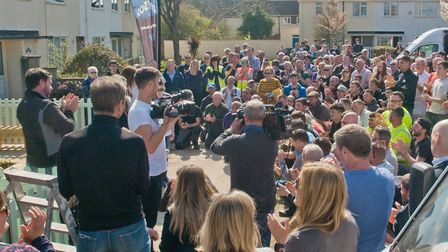 The DIY SOS team in Weston last year. Picture: Mark Atherton