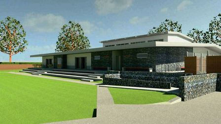An artists impression of the proposed new hall. Picture: Congresbury Village Hall Ltd. Picture: Cong