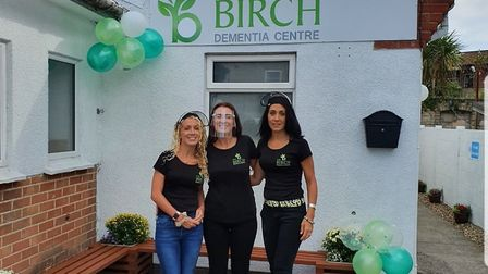 Staff at The Birch Dementia Centre opening day. Picture: The Birch