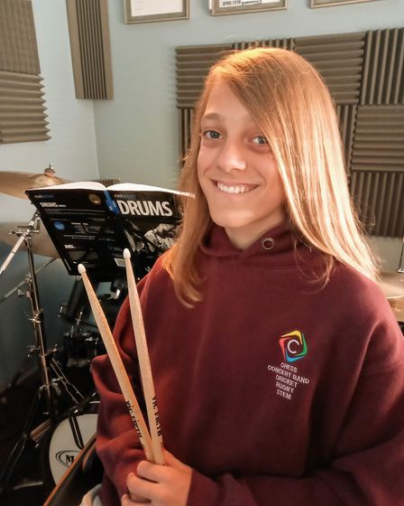Kimi Powell received the grant from the Awards for Young Musicians. Picture: AYM