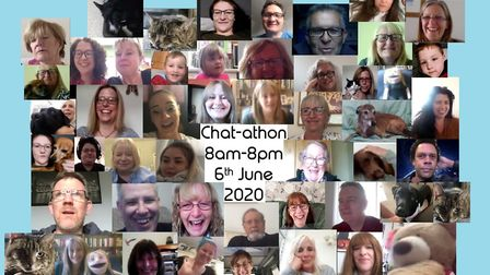 The chat-athon organised by Aware.