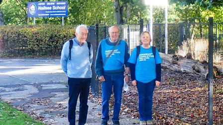 The Nailsea Charity Walk and Runs event was held virtually this year.