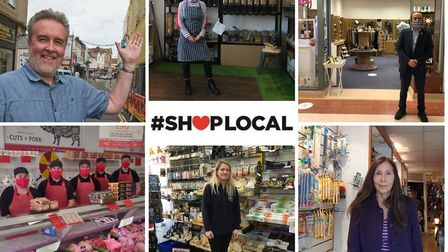 The Weston Mercury has launched its Shop Local campaign.