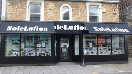 Tanya Marriott of SoleLution in Portishead High Street. Picture: Tracey Fowler