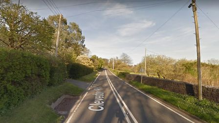 The B3128 will be closed overnight. Picture: Google