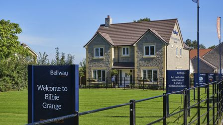 A showhome in Bilbie Grange.