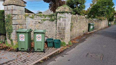 20mph signs were put up by the residents of Church Road and Winscombe Hill to deter speeding but wer