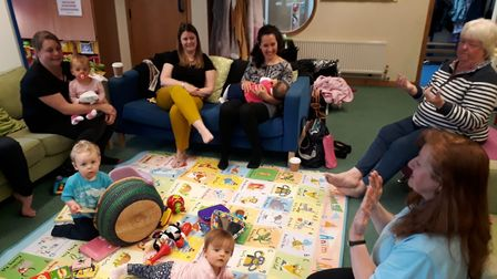 Home-Start North Somerset's mother's support group in January, 2019. Picture: Home-Start North