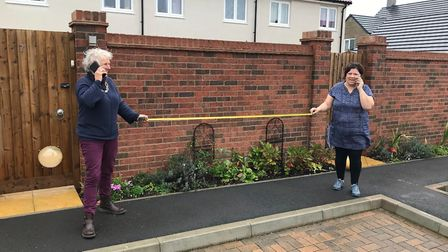 Jane and Angi. Picture: Home-Start North Somerset