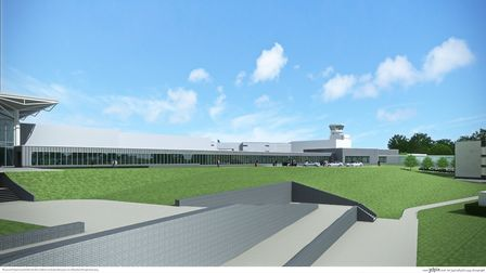 The plan includes a new taxi rank and toilet facility at Bristol Airport.