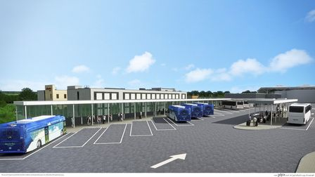 Bristol Airport expects its public transport interchange to be completed by 2022.