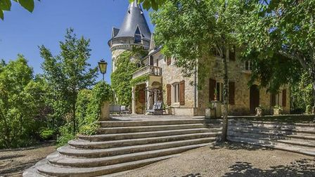 The captivating castle-style chateau.