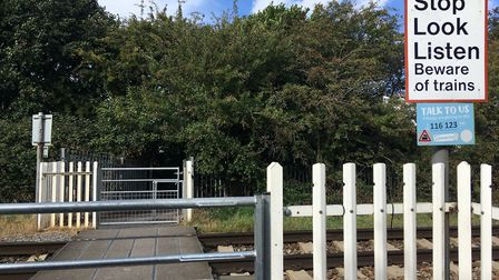 Improvements have been made to Finch Close llevel crossing. Picture: Henry Woodsford