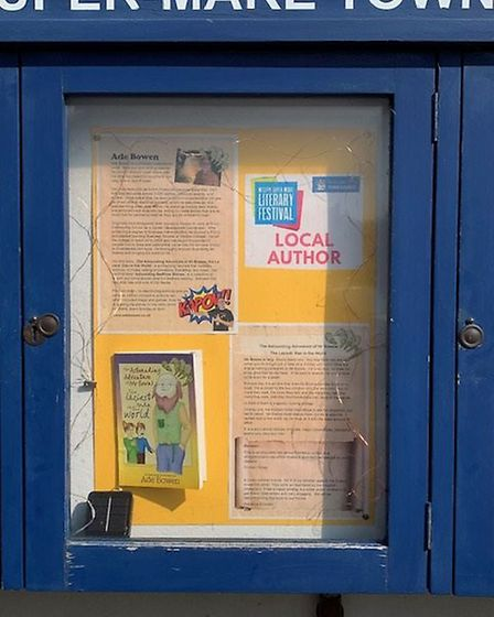 The updated town council noticeboards. Picture: Weston Town Council