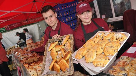 Rob and Tina from Winnies Bakery at eat:Burnham in 2019. Picture: Mark Atherton
