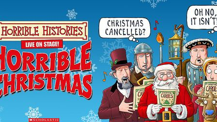Horrible Histories' Christmas panto will be held at Bath and West Showground on December 22.