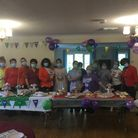 Silver Trees Care Home held a cake sale to raise money for Macmillan.