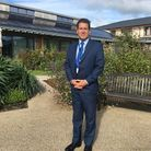 Frank Noble, chief executive of St Peter's Hospice.