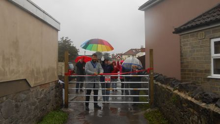 Weston residents have installed gates in lanes behind their homes to deter anti-social behaviour.