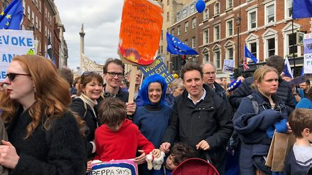Open Britain Hampstead, one of the groups that signed the letter, at a grassroots pro-EU event. Pict