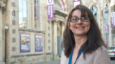 Sally Heath, Blakehay Theatre manager. Theatre has bid for cash, for its SEN project. Picture