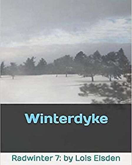 Front cover of Lois Elsden's latest novel, Winterdyke.